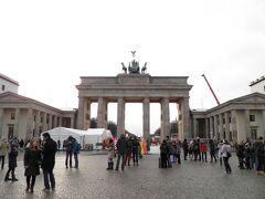 ブランデンブルク門へ到着。
