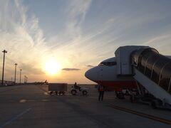 関西空港第2ターミナルからの出発です 16時30分発 済州航空7C1383で1時間30分の空旅 ソウルは冷えているのかな?