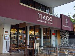 朝ごはんは「TIAGO」で。