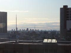 東京スカイツリー。