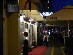 イェラチッチ広場から南に5~6分歩いたところにある「プルゲル」というレストランに来ました。おいしいクロアチアの家庭料理が食べられるそうです。