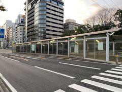 着きました。最寄り駅は原爆ドーム前。