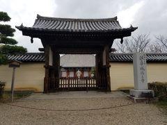 法華寺。光明皇后により建立された総国分尼寺です