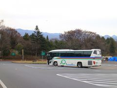 ★12:23  狭山PAから1時間20分程で、赤城高原SAに到着です。ここでは昼食休憩として、40分程度の休憩時間が設けられています。