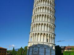 ピサの斜塔  傾きが以前より凄いような感じがします。