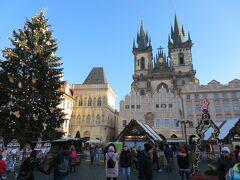 旧市街広場まで歩いてきました。  いい天気!