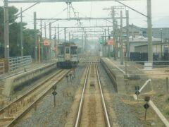 2019.12.22 琴平ゆき普通列車車内 金蔵寺を過ぎて…