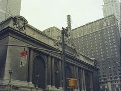 The first visit, 3 July, 1978. Grand Central, 1978. 後ろは,PAN AM ビル。