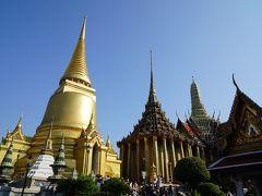 黄金の仏塔が見えてきました!