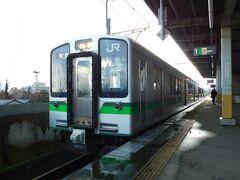2019.12.28 北三条 ダイヤ的には燕三条か北三条のどちらかで降りることができる。以前、燕三条は行ったことがあったし、新幹線停車駅だし…とここで降りてみた。