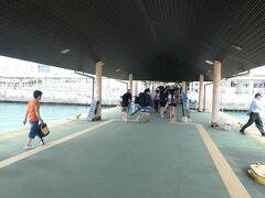 12:05 離島ターミナルに到着。
