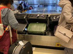 桃園空港に到着。 immigration、相変わらず時間かかりすぎ。 またbaggage claimはこんな感じ。
