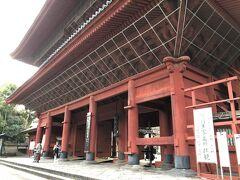近くの増上寺に行きました。 こちらに徳川の将軍6人のお墓があります。