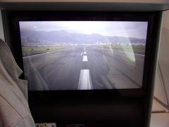 ホノルル ダニエル・K・イノウエ国際空港に着陸です。