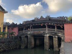 1600年頃に日本人が掛けた橋。