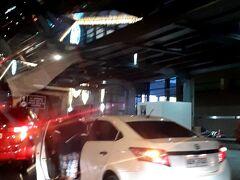 AM5時40分。空港に無事到着。 結局35分で到着しました。