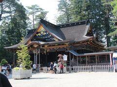 移動して、大崎八幡宮へ。 広い境内でいいかんじです。