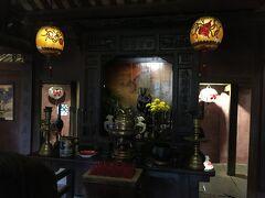 フーンフンの家の内部。