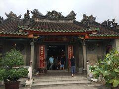 福建会館の門
