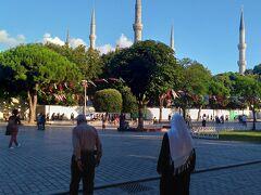 イスタンブールは初めてですが 空気が爽やかでとても過ごしやすい。