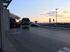 このバスはルーマニア行きだった。