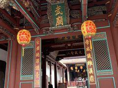 赤嵌楼周辺を歩いてきましたが、祀典武廟でお参りをしました。 台湾に来れたことのお礼とこれからの好転を祈って・・・