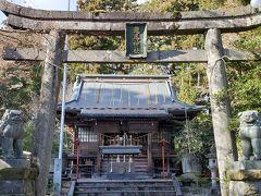 日光街道沿いにある瀧尾神社 たきのおじんじゃと読みます