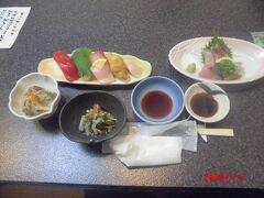 寿司屋「鈴よし」で、夕食。