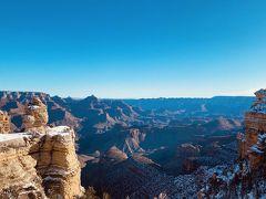 ナバホポイントからの景色?  確かではありませんが、グランドキャニオン国立公園のどこかの写真です。