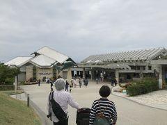 その後はホテルを出て、許田の道の駅で美ら海水族館の割引券を買い、美ら海水族館に行きました。