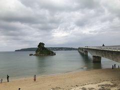 昼食を軽く済ませて、その後はこうり島へ。 古宇利島って書くそうです。