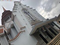 2020年1月8日(水)2日目の続き  行程にはないのですが、フエの大教会へ。  1959年~62年にアメリカの援助によって建てられました。