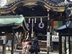 2/2 今日は天気もよく、豊川稲荷に散歩。残念ながら、家元屋のおいなりさんは売り切れでした。