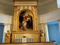 マリメッコをあとに、次どこ行こう… そういえばさっきヘルシンキ大聖堂で中に入れなかったからもう一回行ってみようかな…と向かいました。 ロシア皇帝ニコライ皇帝1世付きの宮廷画家の作品だそうです。