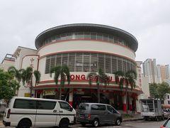 ジョホールバルからシンガポールに戻って、MRTでティヨンバル駅に 駅から市場には少し歩く