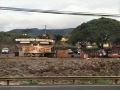<さとうきび列車>  マウイ島に「さとうきび列車」があるのは知っていたのですが、ラハイナとカアナパリを結ぶというのは来てから知りました。 今回は乗る時間もなかったけど、一回でも見たかったな!