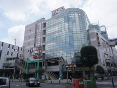 ●JR小山駅前  駅前の商業施設、ロブレ。 ドンキや映画館が入っているようです。