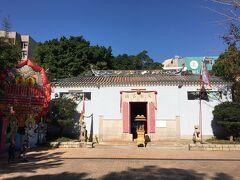 ティンハウミュウ(天后廟)。 香港のあちこちにありますが、ココは風水的に最高の場所にあるんだとか。