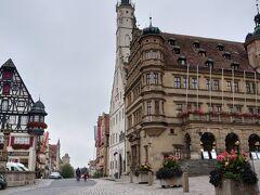 市庁舎のあるマルクト広場です。