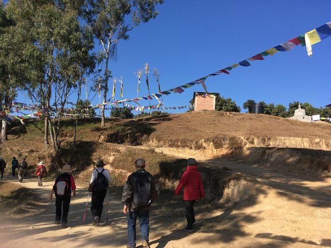 途中に現れる、農村が非常に興味深かった。