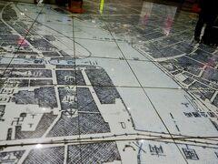 床にゼロメートル地帯の地図があった。