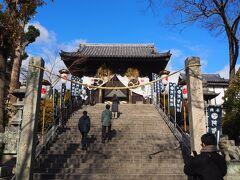 次は、阿智神社へ。 こちらは神社だからか、飾りつけも見事に開いていました。