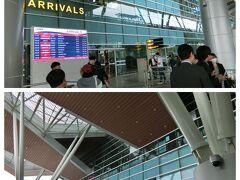 無事ダナンに到着。朝早かったからかイミグレの係員さんが少なく行列ができていました。8時頃係員さんが増えてやっと荷物のターンテーブルへ来たら荷物はまだで、のんびり~ベトナム時間でしょうか?  ダナン空港の国際線は2017年に第2ターミナルとして新しく開業したそうで広くてきれいな空港でした。