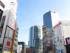 日々変わりゆく渋谷の街(渋谷109からの眺め)  午前中に用事を済ませて行動開始。 まず、今年のお正月休みに移転した東京メトロ銀座線渋谷駅を確認しに行ってみます。