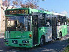北九州市営バス。北九州市に統合される前は、若松市営バスだったとのこと。