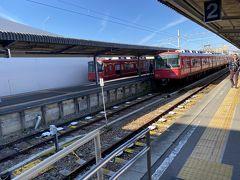 あっという間に30分。かの有名な戸塚ヨットスクールが近くにある終点河和駅です。ここからバスで河和港に行きます。