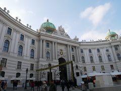 ミヒャエル広場。 王宮からの旧市街の入口。