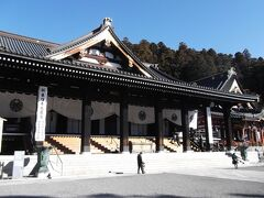 日蓮宗本山・久遠寺です