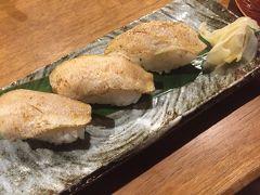 シメはのどぐろの握り寿司 500円。 お酒も美味しかったし、お料理の値段もリーズナブル。 新潟グルメ満喫でした。