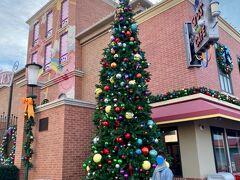 あちこちにクリスマスツリーが♪